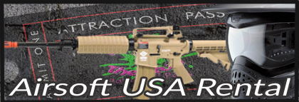 Airsoft Rental for Airsoft Games in Fort Worth Dallas