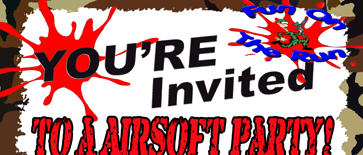 Airsoft games Invitations for Fun On The Run in DFW