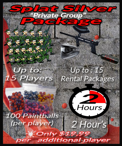 Fort Worth Paintball Birthday Private Party Group Rate